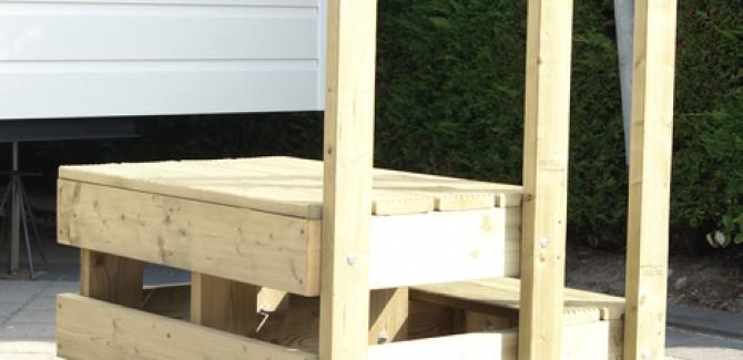 Accessoires for Bordestrap hout